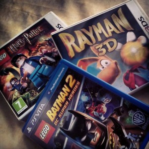 rayman batman harry potter